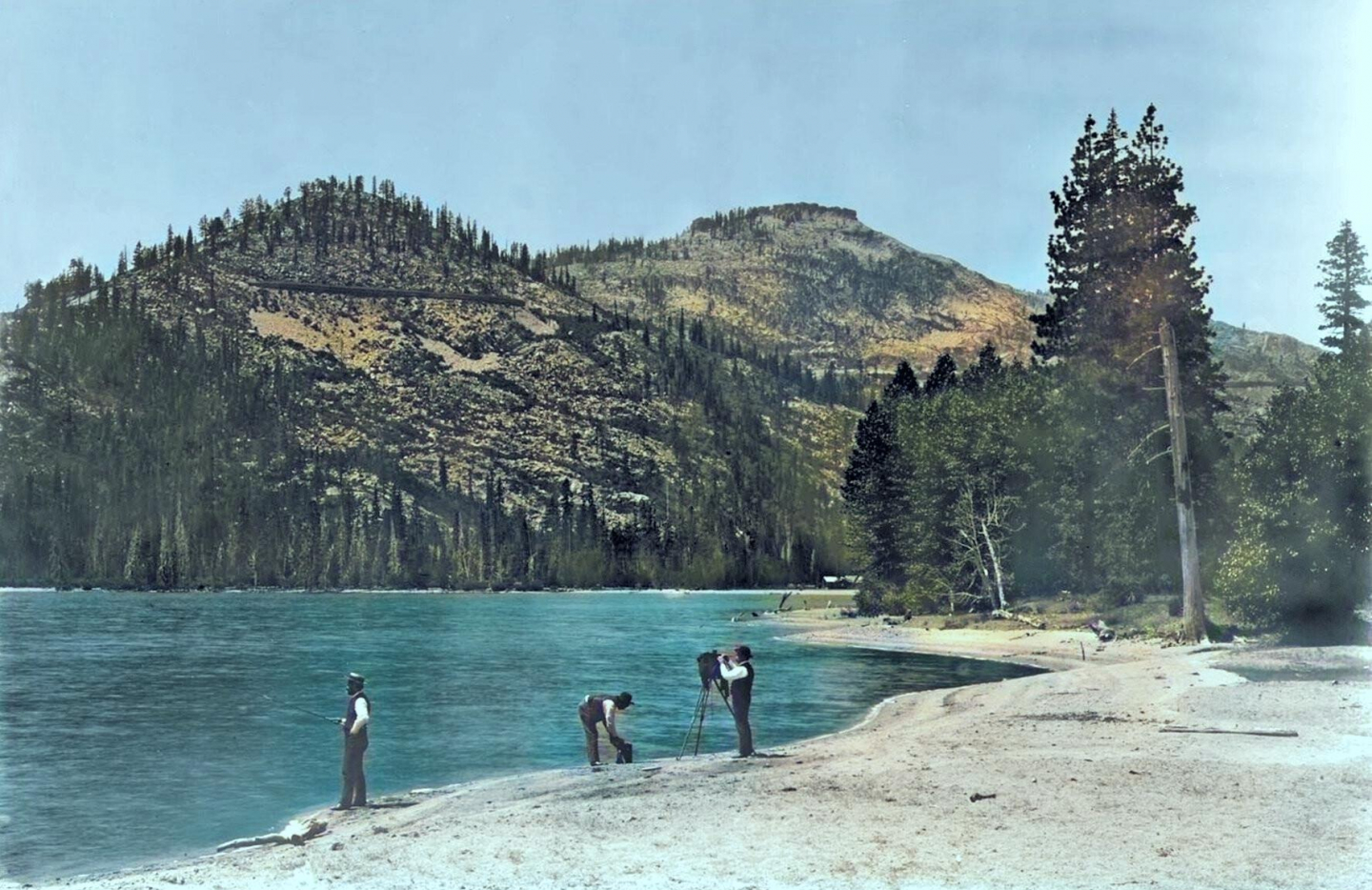 gallery/1866 photographers fishing west end of donner lake